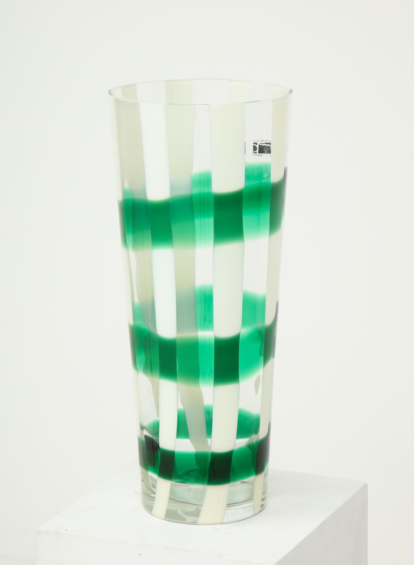 A Murano Art Glass vase by Carlo Moretti