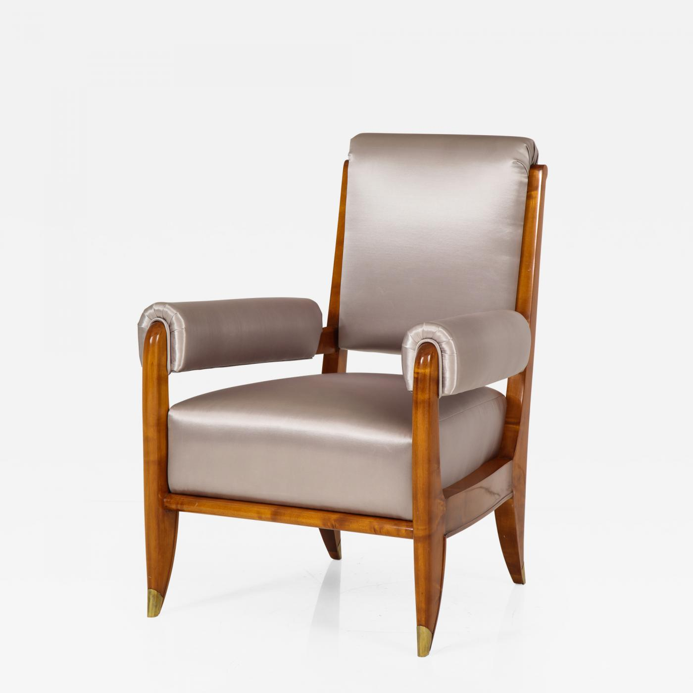 A Modernist armchair designed by Maurice Jallot