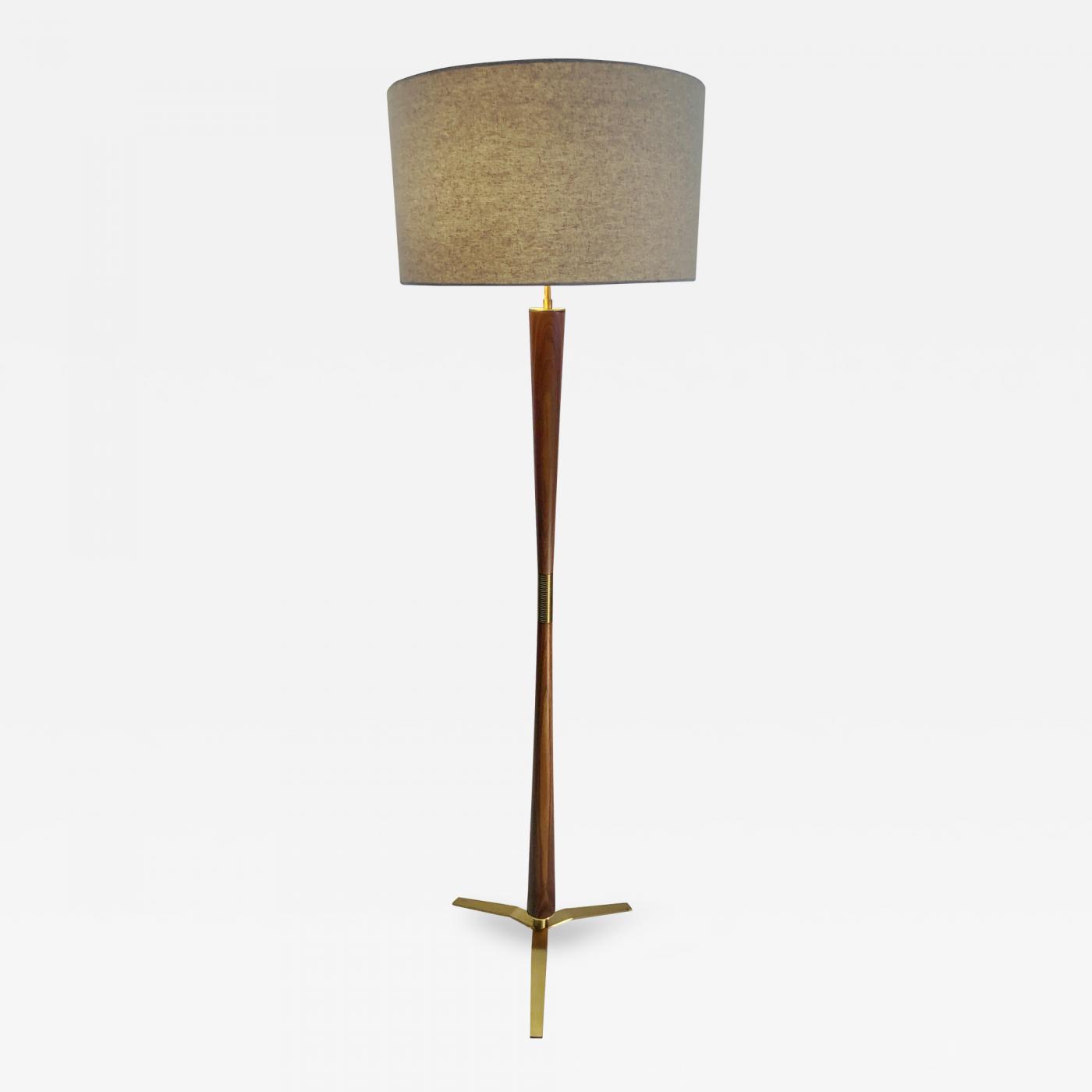 A Modernism Style base Floor Lamp.