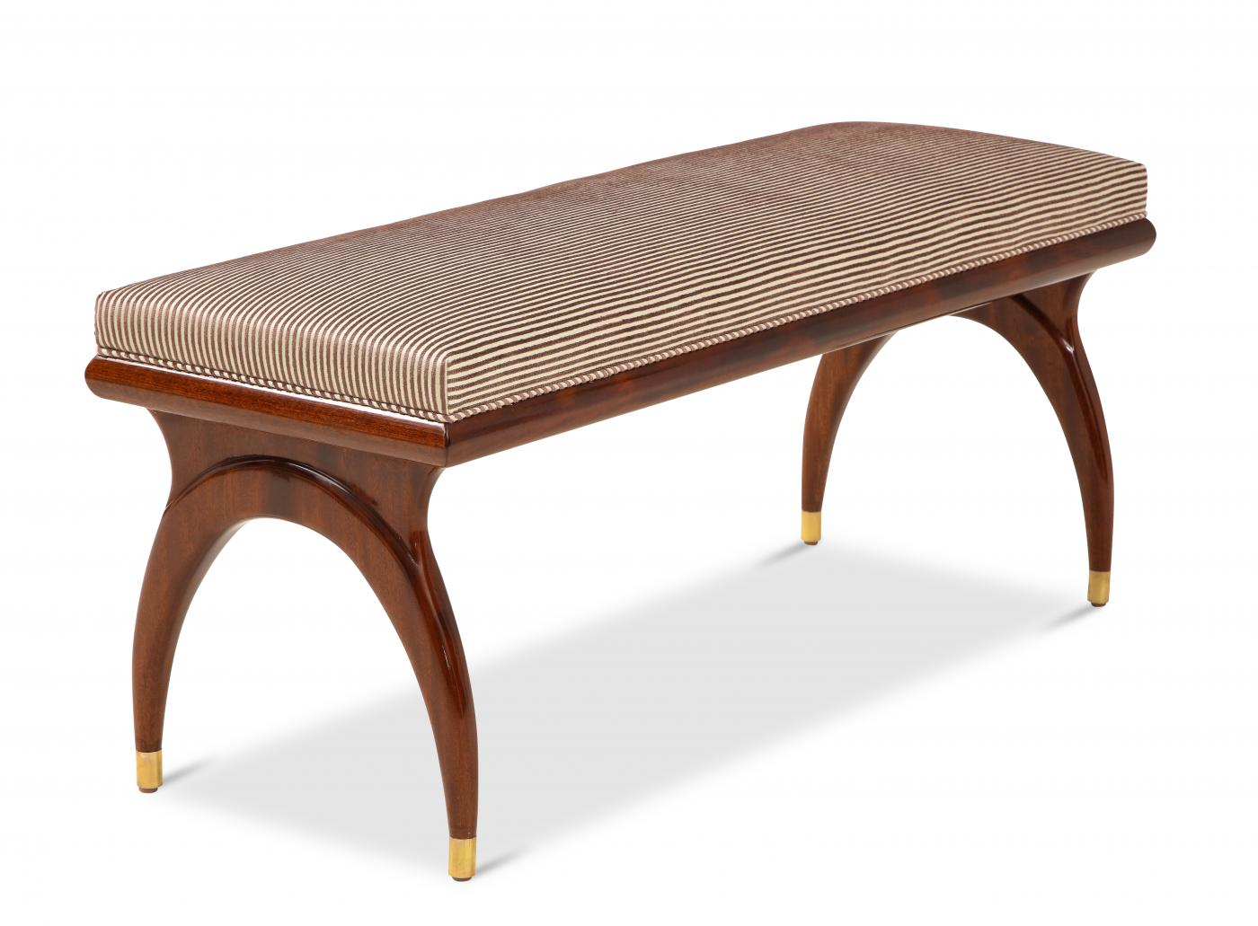 Contemporary Bench in the Manner of Bertha Schaefer