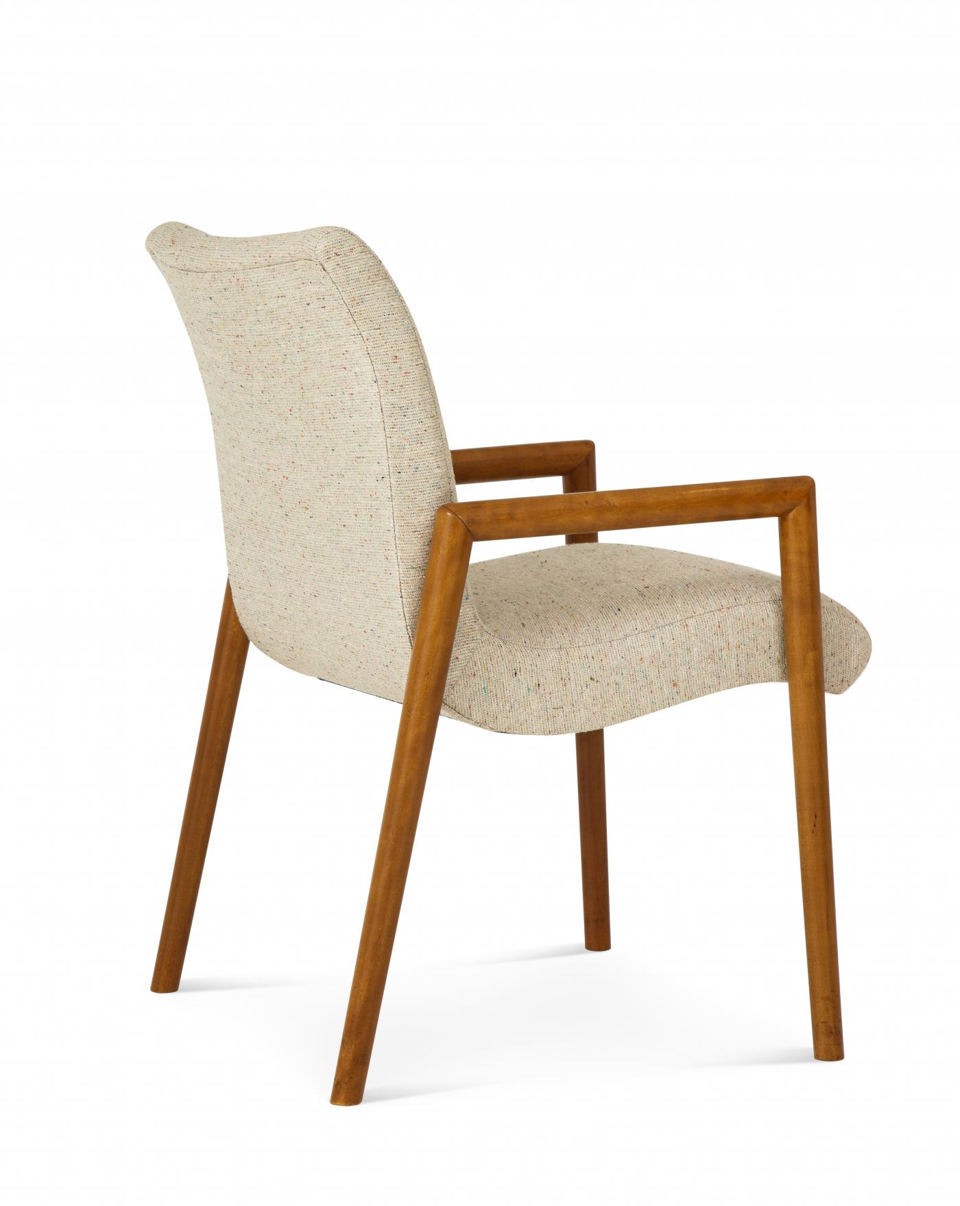 A Modernist Arm-Chairs, designed by Russel Wright for Conant Ball