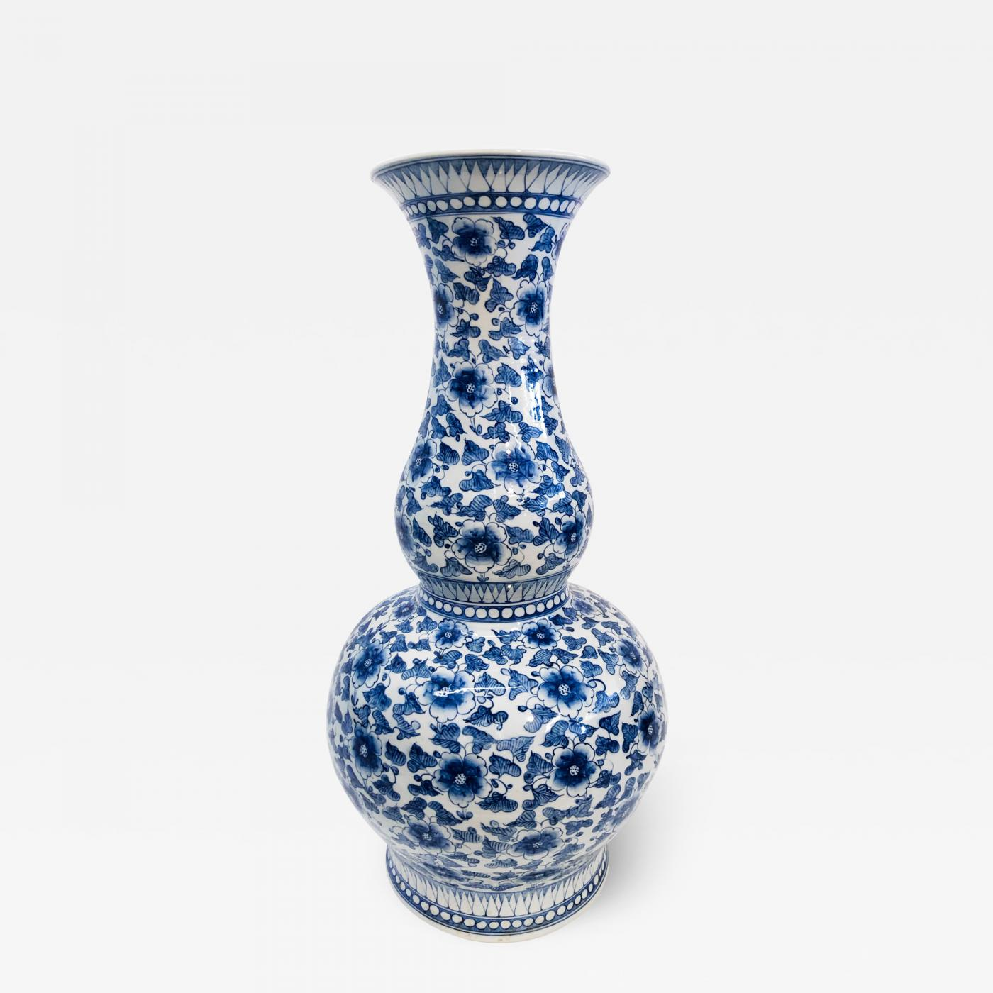 A Large Porcelain Vase made by Maitland Smith. 1970's.