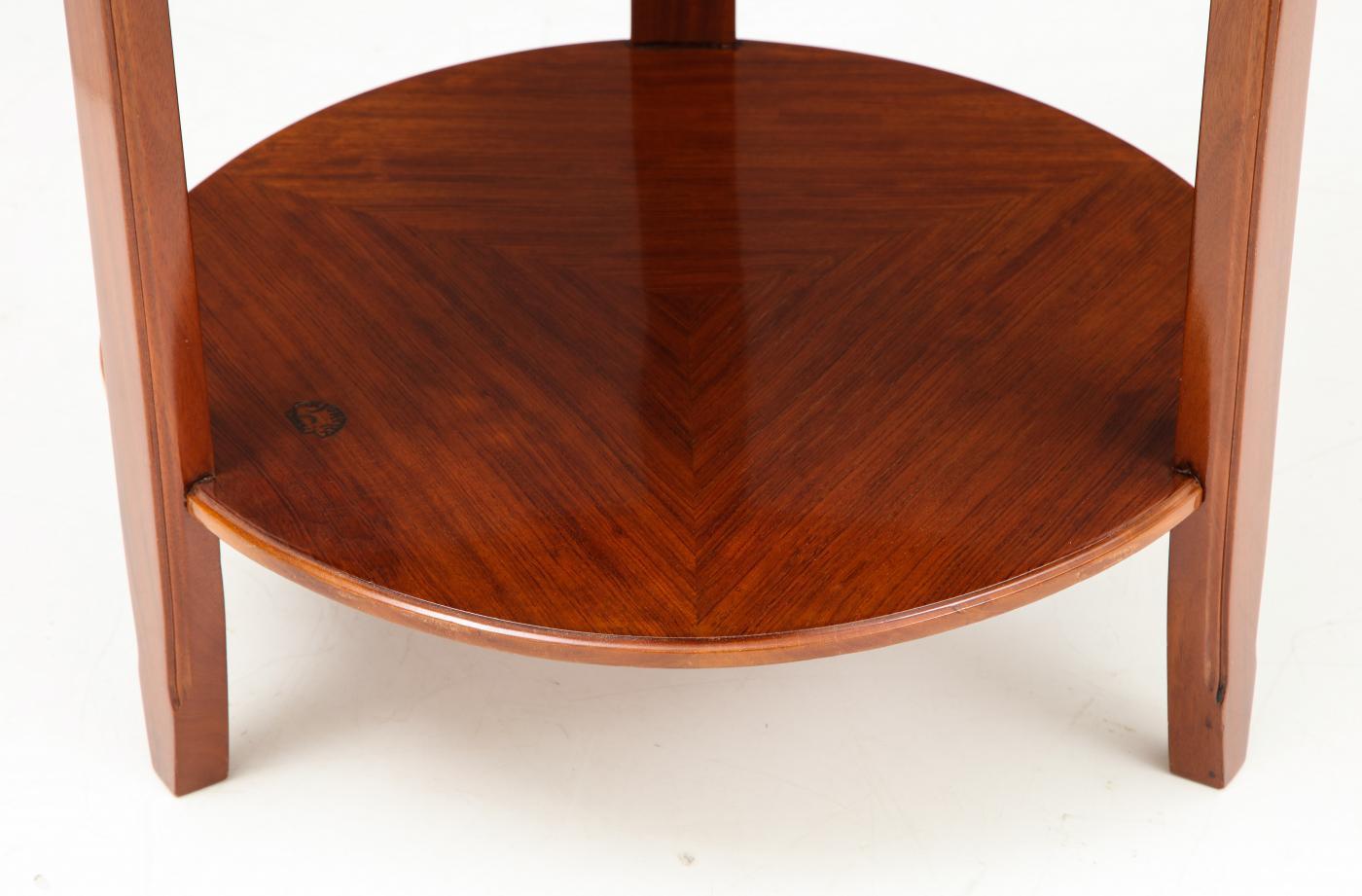 Art Deco side table by Louis Majorelle