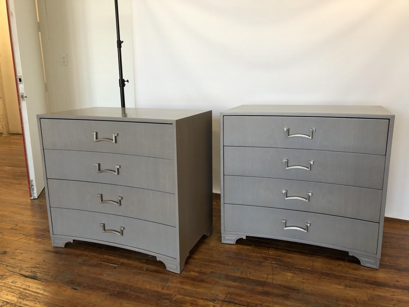 Pair of Modernist Dressers. Designed by Lorin Jackson for Grosfeld House.
