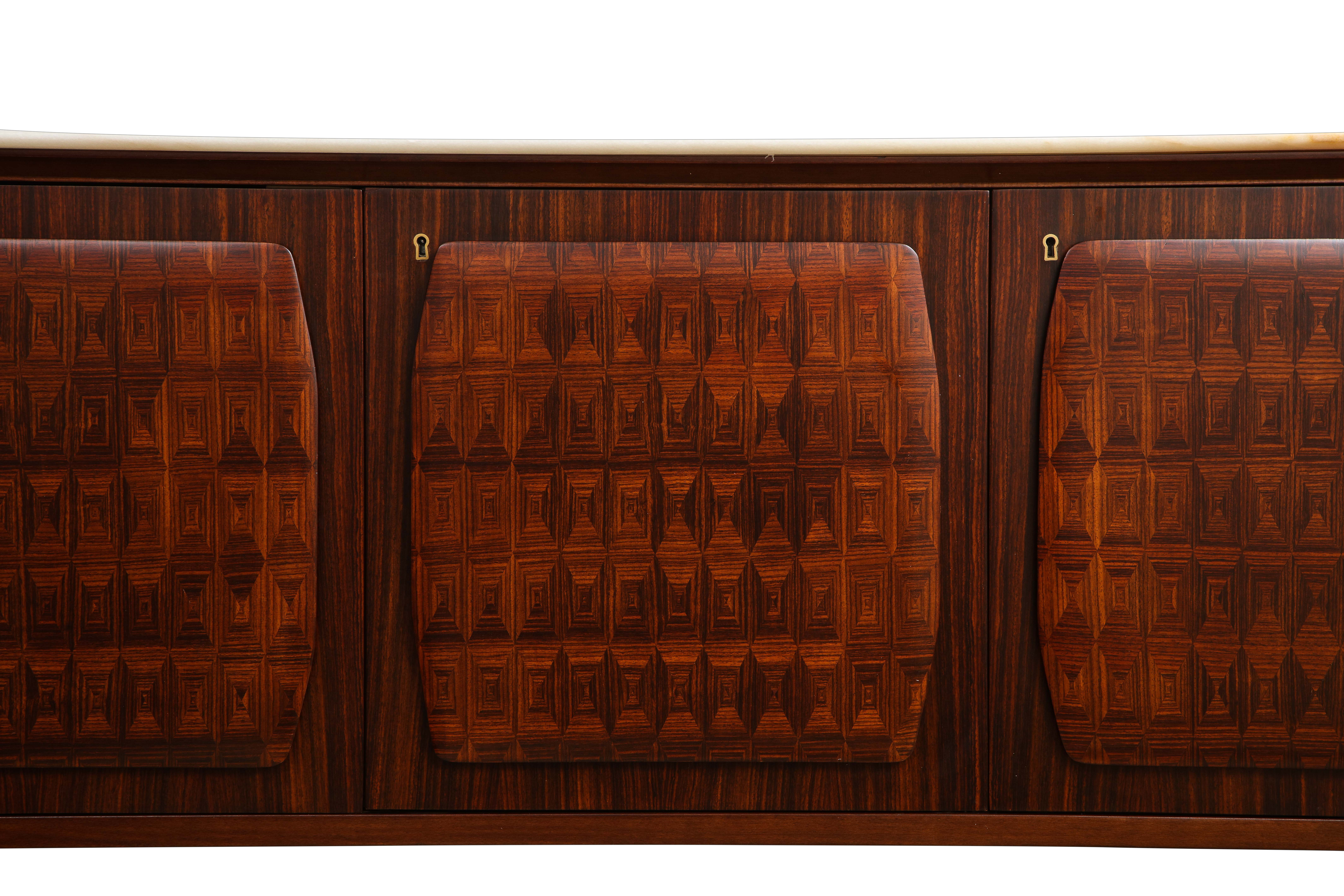 Mid Century Modern sideboard - Attributed to Ico Parisi, 1950's.