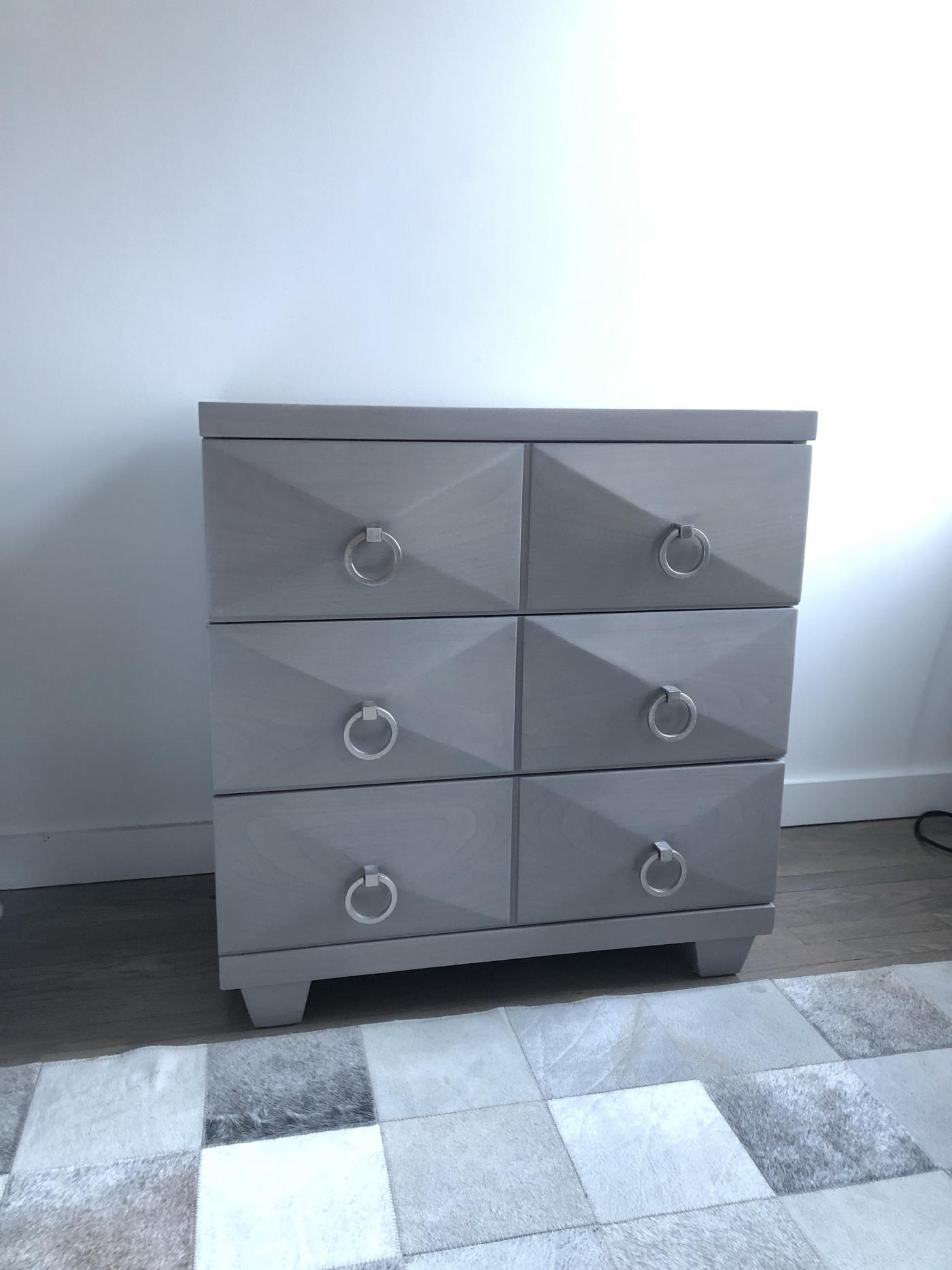 Pair of Bedside Mid Century Chest of drawers.