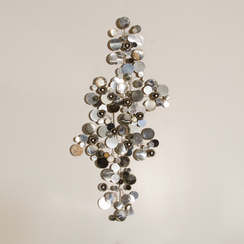 A raindrops sculpture designed by Curtis Jere for Artisan House.