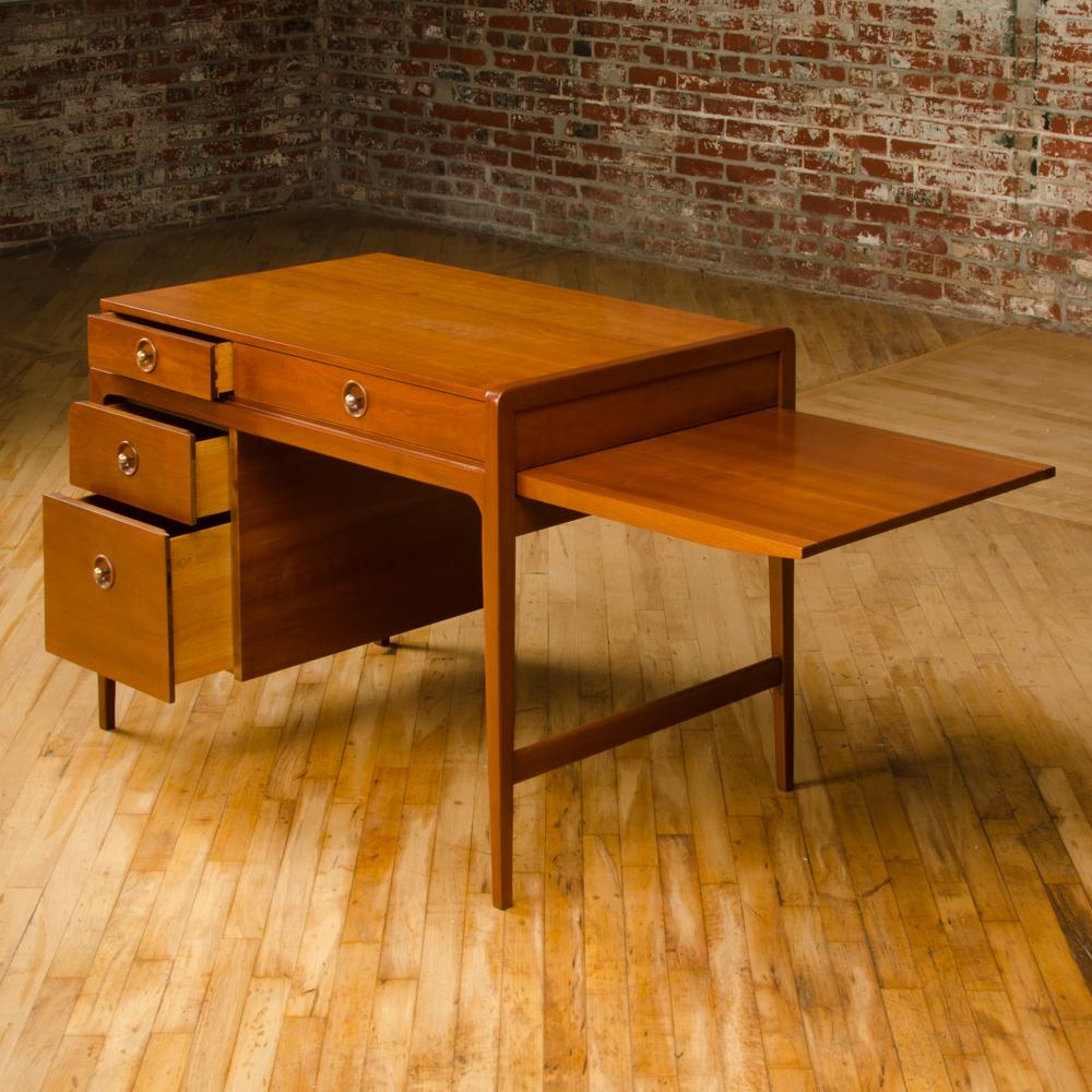 An American Mid-Century desk, John Van Koert for Drexel