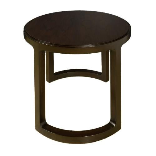 End table by Edward Wormley. Original Label.