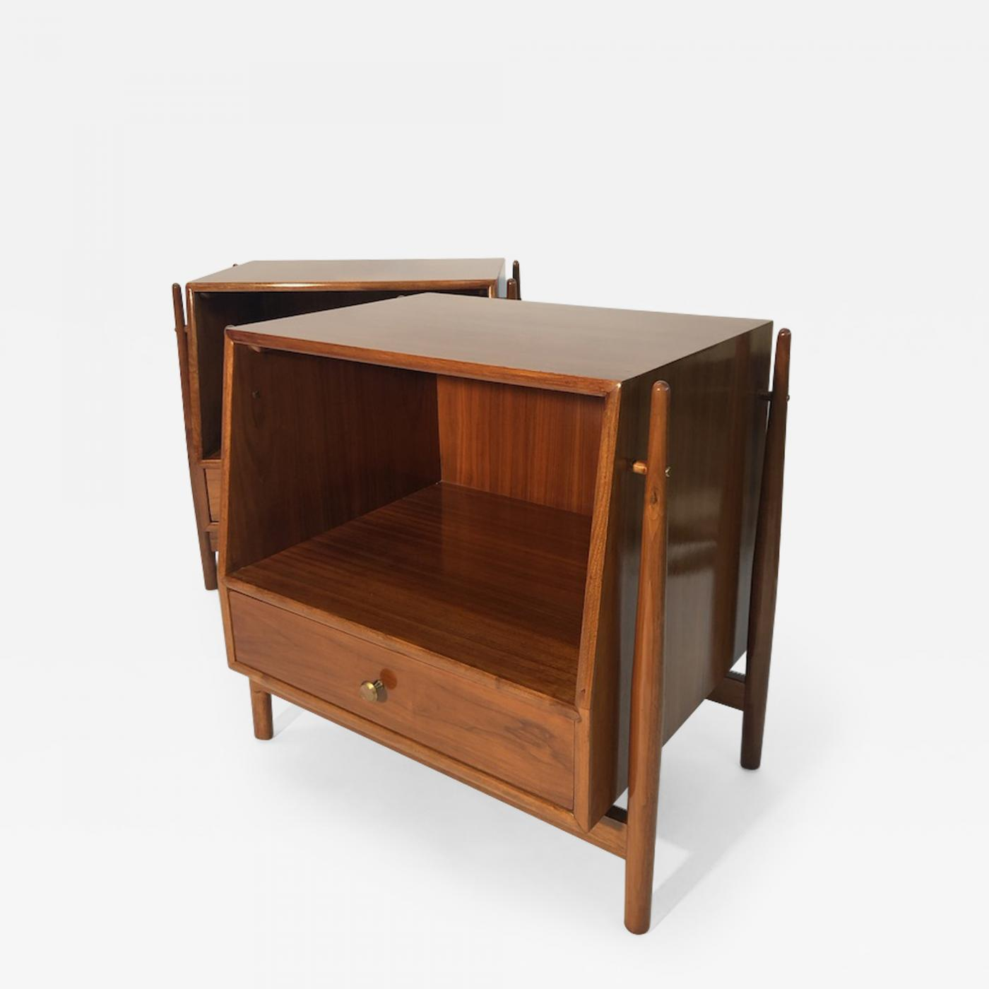 Mid-century Kipp Stewart nightstands