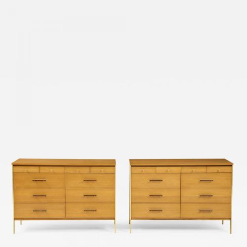 Pair of Mid-Century Modern chests. Paul McCobb for Directional