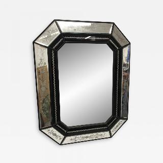 Octagonal Venetian Mirror.